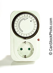 Automatic Time Switch - Automatic time switch on bright...