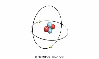 Helium Atom sixteen second loop