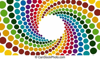 Colorful Background - Rotating colorful Background
