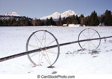 Oregon Farm Winter