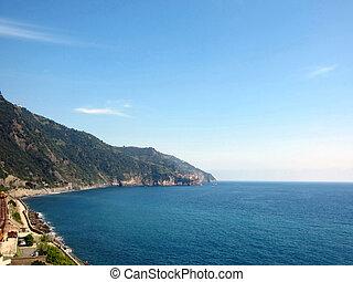 Italian Coast - Village on Italian Coast