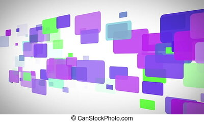 Colourful rectangles moving - Background of colourful...