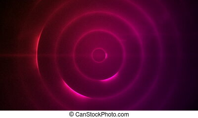 Tunnel of pink and red - Background of a tunnel of pink and...