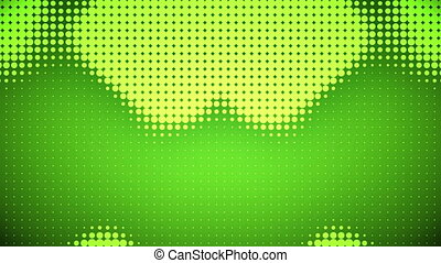 Video of light green dots - Animation of light green dots