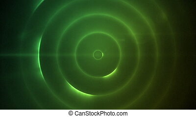 Moving circles of flashing multicol - Background of moving...