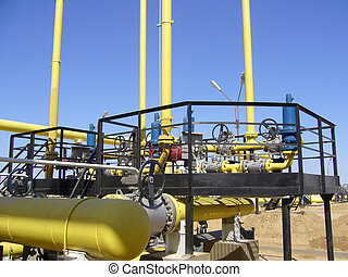 Gas industry, gas transmission system - Gas industry, gas...