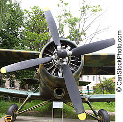 propeller aircraft of Soviet production