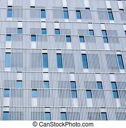 Face of modern building