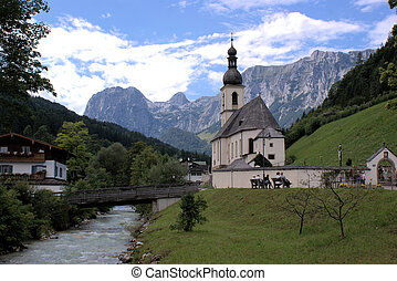 Nature Park Berchtesgaden Alps - In the Berchtesgaden Alps...
