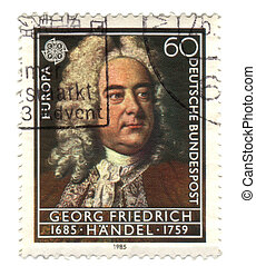 GERMANY - CIRCA 1985: stamp printed in Germany, shows...