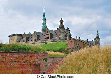 Castle Kronborg in Elsinore - Severe and inaccessible castle...
