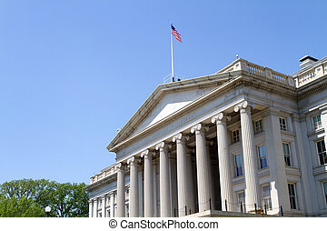The Treasury Department Building - The Treasury Department...