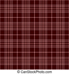 Seamless Cranberry Plaid - Dusty rose and deep cranberry...