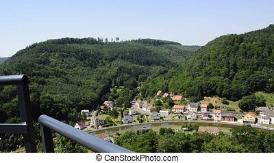 Marne-Rhine canal, Alsace, France - Marne-Rhine canal, view...