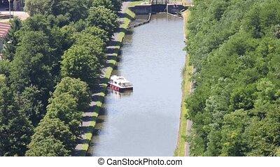Marne-Rhine canal  - Marne-Rhine canal, Alsace, France
