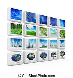 Global technologies. All images and architecture design my...