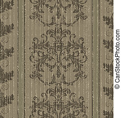 Seamless old baroque wallpaper