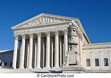Supreme Court Building in the United States