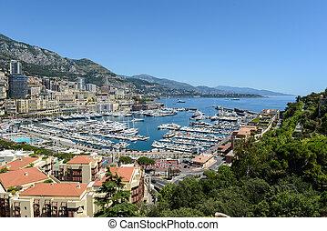 Monte Carlo Monaco Cityscape