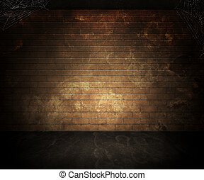 Dark Basement Background