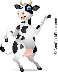 vache, dessin animé