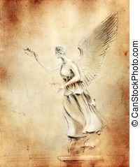 Victory - Victory - personified godess - copy illustration...