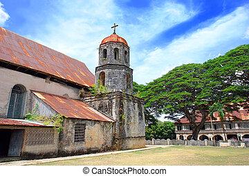 Filipino church - Filipino Catholic Church, bell tower and...