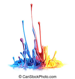 Paint splash - Colorful paint splash