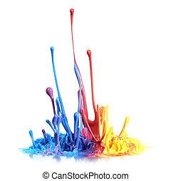 Paint splash - Colorful paint splash