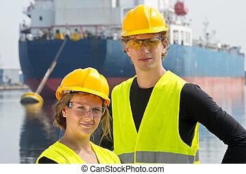 Harbor entrepreneurs - Male and female entrepreneurial...