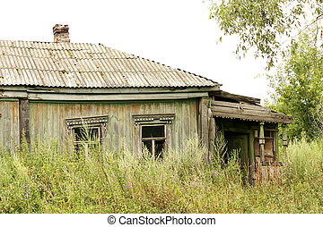 Abandoned house - Old village house, abandoned by tenants,...