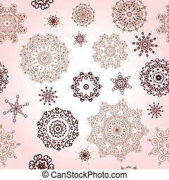 seamless background pattern with arabesques