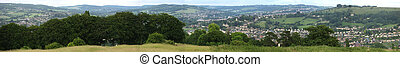 Rolling Hilside view from Selsley Hill, Stroud - The...