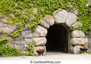 Kungsholm Fort, Karlskrona, Sweden - Main entrance to...