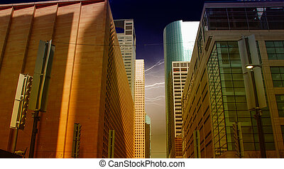 Group of Buildings in Houston, Texas