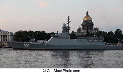 Navy Corvette - Russian Navy Corvette Soobrazitelny at...