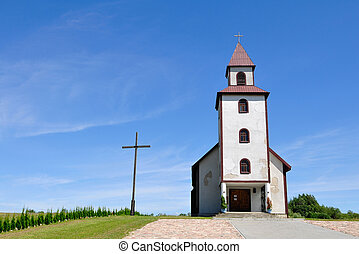 Small old church in Poland