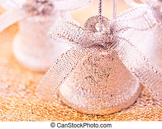 Christmas decorations photo set - jingle bells - A photo...