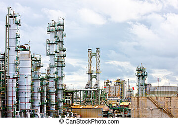 technology - petrochemical plant
