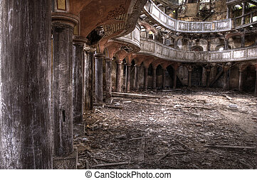 Old theater hdr