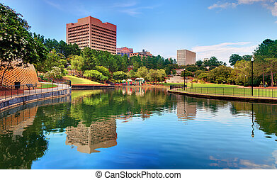 Columbia at Finlay Park - Finlay Park in Columbia, South...