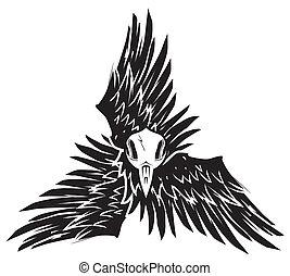 烏鴉, triskelion