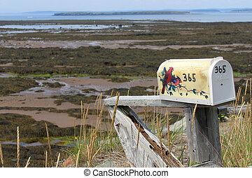 NB Rural mailbox by ocean