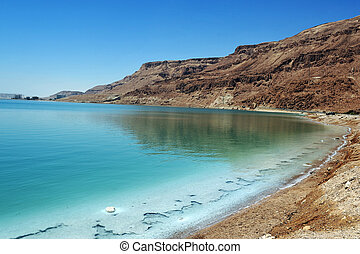 Travel Photos of Israel - Dead Sea - View of Dead Sea...