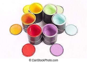 Paint Can Color Wonder