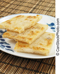 Chinese Taro Cakes - Taro cakes are a common dim sum dish in...