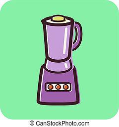 Illustration of a blender