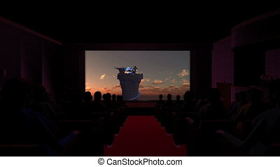 Theater Dragon Movie - image of theater