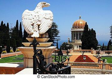 Travel Photos of Israel - Bahai Shr - The Bahai Temple and...