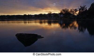 Morning Lake, time-lapse